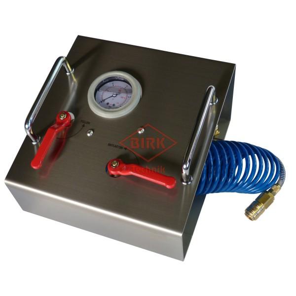 Stickstoff-Fülleinrichtung für Dauerdrucklöscher