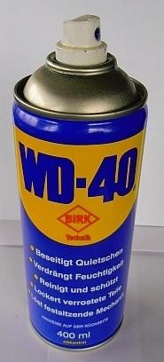 Reinigungs- und Rostschutzmittel WD 40, 400 ml Spraydose