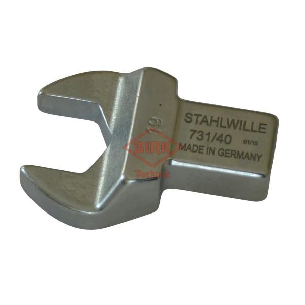 Einsteckgabelschlüssel mit Einsteckzapfen 14 x 18, SW 19