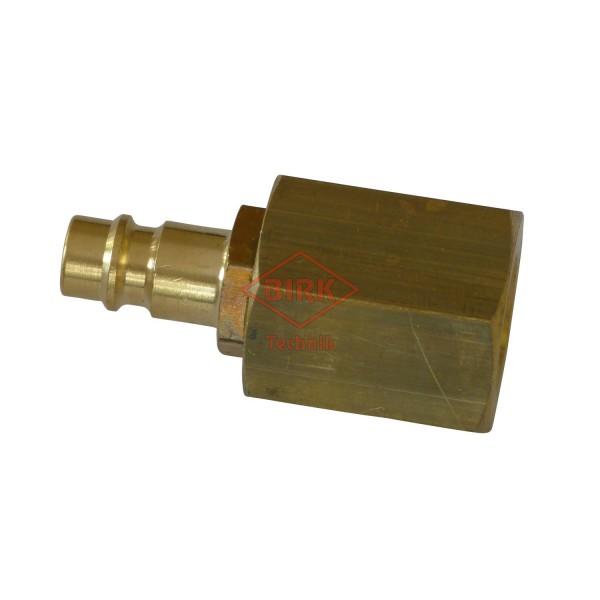 Schlauchprüfanschluss mit Stecker M 16 x 1,5 Innengewinde