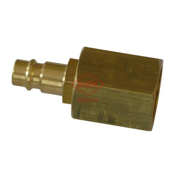 Schlauchprüfanschluss mit Stecker M 22 x 1,5 Innengewinde