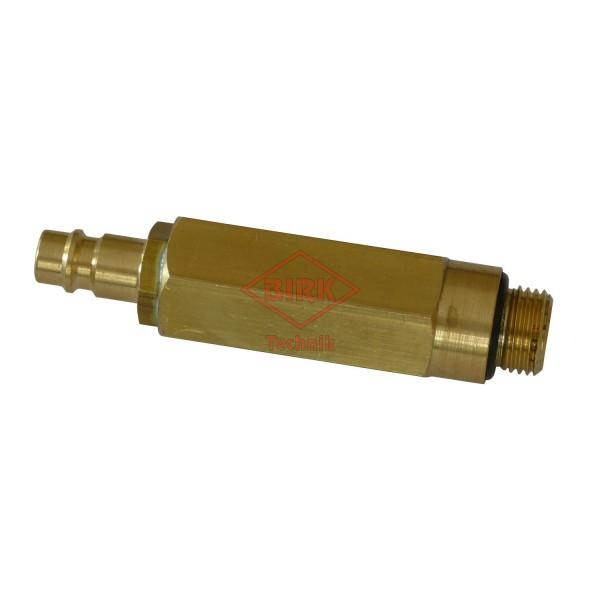 Prüf- und Füllanschluss M 16 x 1,5