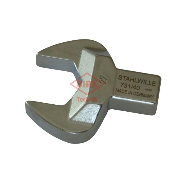 Einsteckgabelschlüssel mit Einsteckzapfen 14 x 18, SW 27
