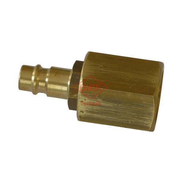Schlauchprüfanschluss mit Stecker M 20 x 1,5 Innengewinde