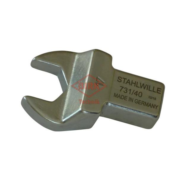 Einsteckgabelschlüssel mit Einsteckzapfen 14 x 18, SW 17